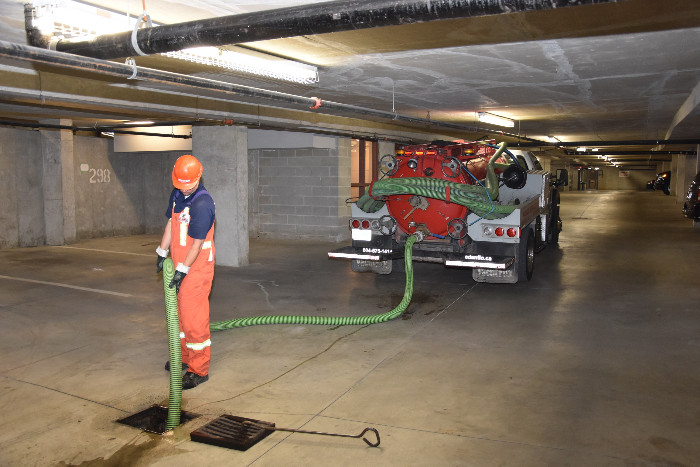 Low Clearance Drain Cleaning