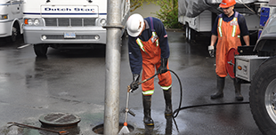 sewer preventative maintenance langley